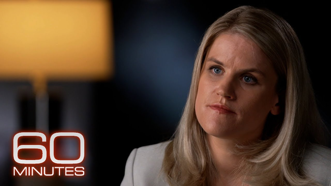 Facebook Whistleblower Frances Haugen - The 60 Minutes Interview-(1080p30)